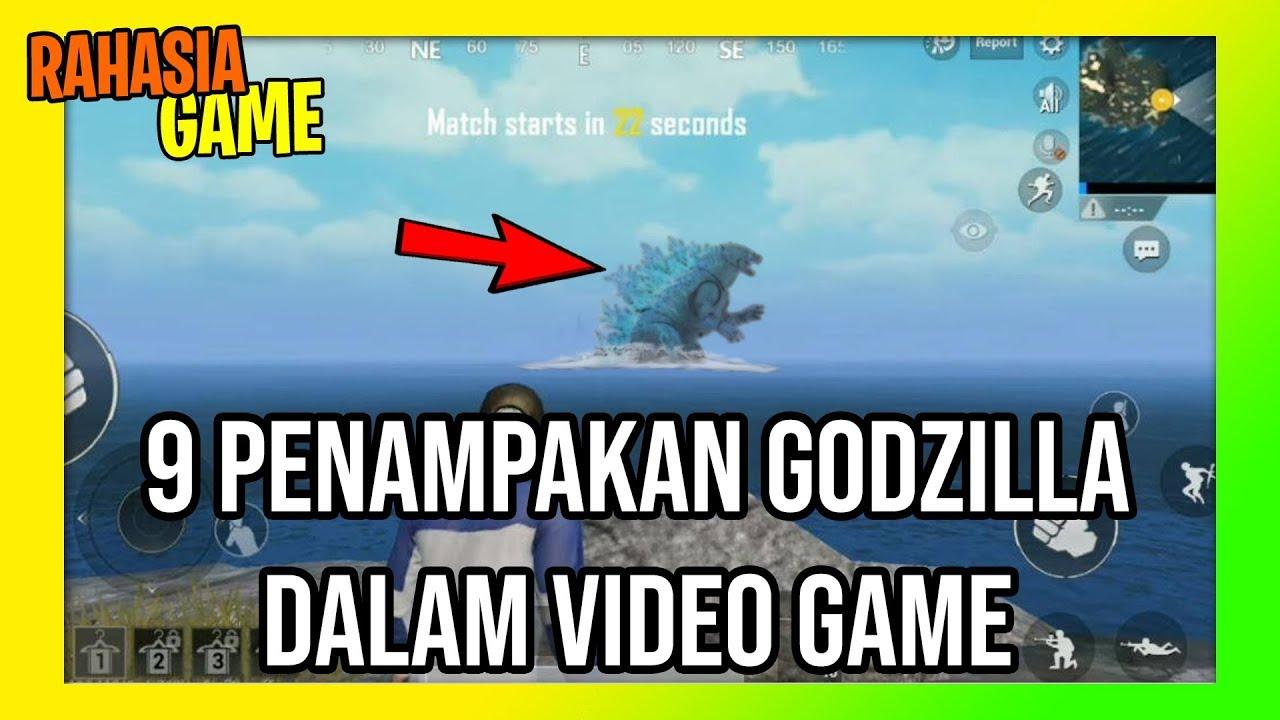 9 Penampakan Godzilla Dalam Video Game | Ada juga di PUBG dan Fortnite