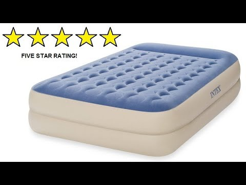Product Review : INTEX QUEEN DURA BEAM AIRBED AIR BED AIR MATTRESS CAMPING GUEST