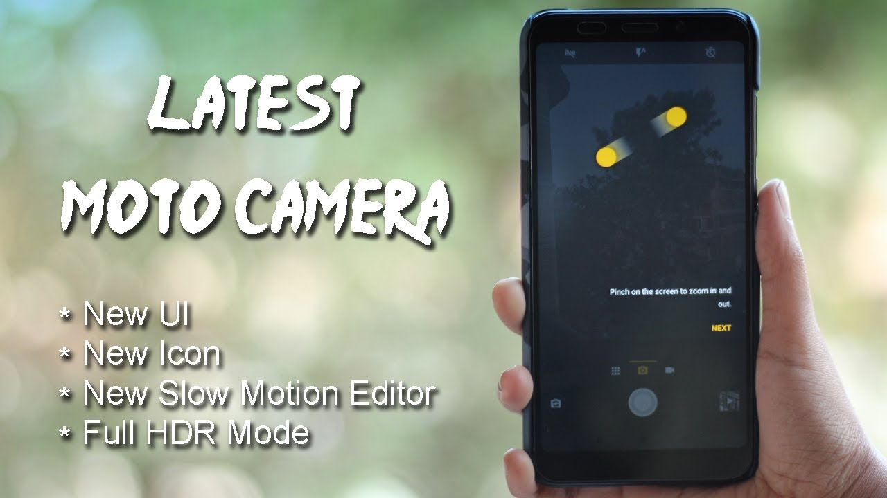 Get All New Moto Camera app on Any Smartphone