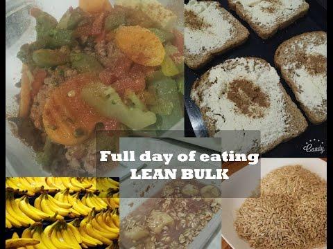 Full Day Of Eating - Lean Bulk Day  #1 (easy Day) | Novi Pocetak |