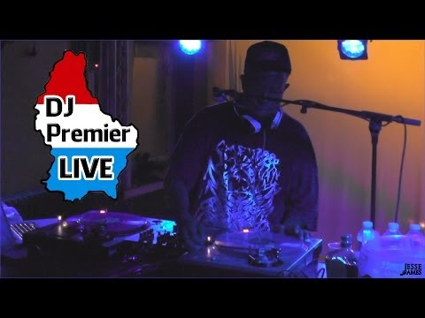 Dj Premier Live in Luxembourg 2013