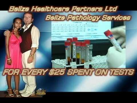Belize Pathology Lab Celebrity Endorsement Ad