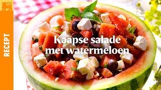 Kaapse salade met watermeloen
