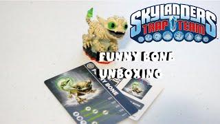 Skylanders Trap Team Funny Bone Unboxing - Undead Element 1080P