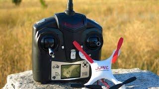 JJ RC 1000A квадрокоптер  мини Фантом Обзор