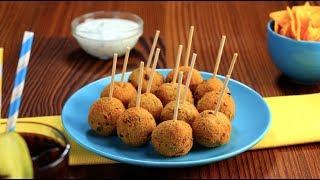 Картофельные шарики с перцем чили