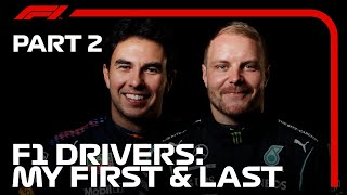 2021 F1 Drivers - My First & Last | Part 2