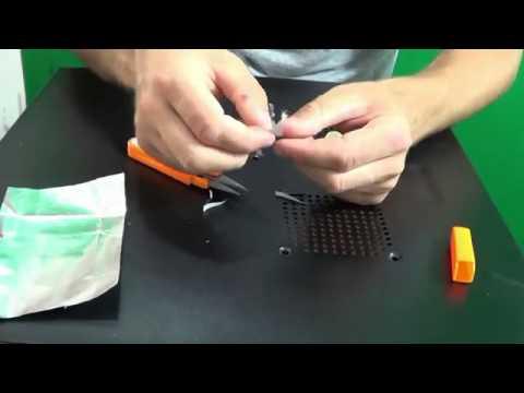 зажигалка из батарейки и скрепки инструкция