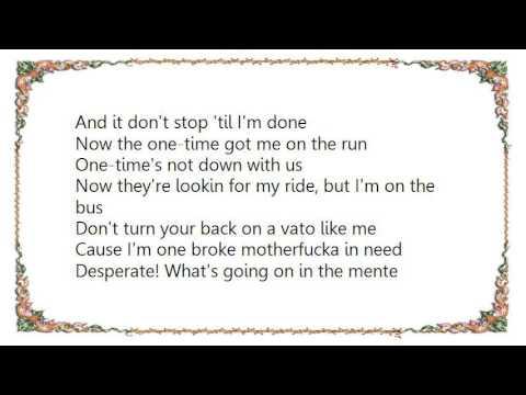 Cypress Hill - Locotes Lyrics