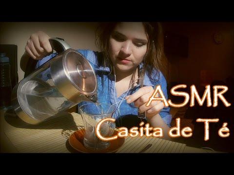 ASMR CHILE/ ROLEPLAY ESPAÑOL: Casita del Té (infusiones)+ Saludos al Fin