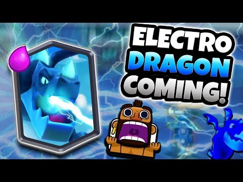 NEW CARD ELECTRO DRAGON COMING! OFFICIALLY TEASED! | Clash Royale | NEW HALLOWEEN UPDATE NEWS