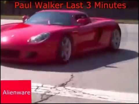 Paul Walker  Последние 5 минут жизни!