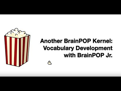 Vocabulary Development with BrainPOP Jr.