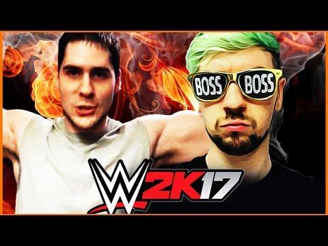JackSepticEye vs PopularMMOs | Extreme Rules | WWE 2K17 | [s7e3]