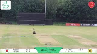 🔴LIVE: VOC vs HCC  KNCB Topklasse Round 9   Royal Dutch Cricket   12-06-2021