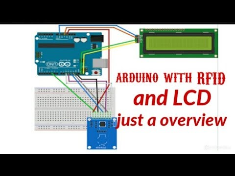 arduino with RFID and LCD project  overview in tamil