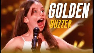 Emanne Beasha: Jay Leno STUNNED By 10-Year-Old Slams His GOLDEN BUZZER | America's Got Talent 2019