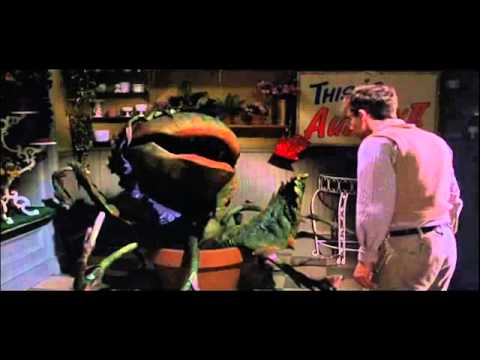 La Pequeña Tienda De Los Horrores Little Shop Of Horrors 1986 Trailer Youtube