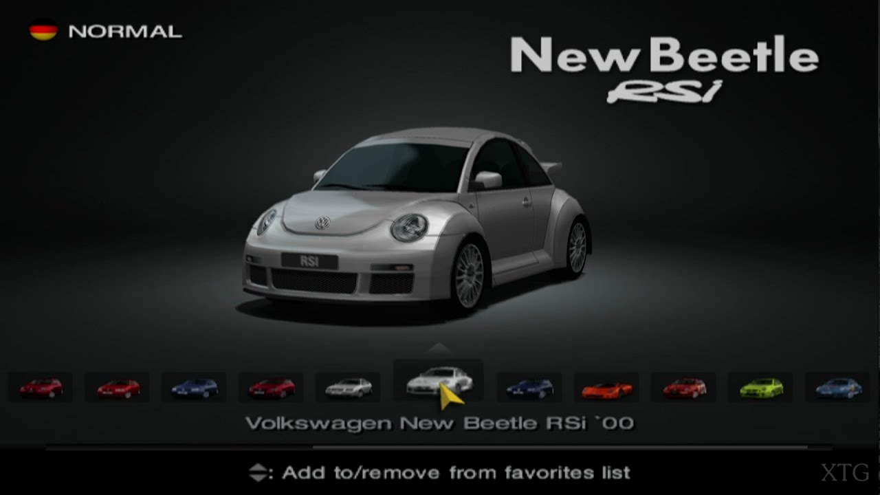 gran turismo 4 volkswagen car list ps2 gameplay hd youtube. Black Bedroom Furniture Sets. Home Design Ideas