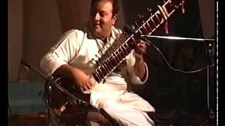 Shujaat Hussain Khan Sitar -  Rag Yaman 1996 Sandeep Das Tabla