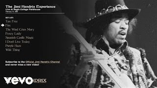 Jimi Hendrix, The Jimi Hendrix Experience - Fire - Regis College 1968 (Audio)