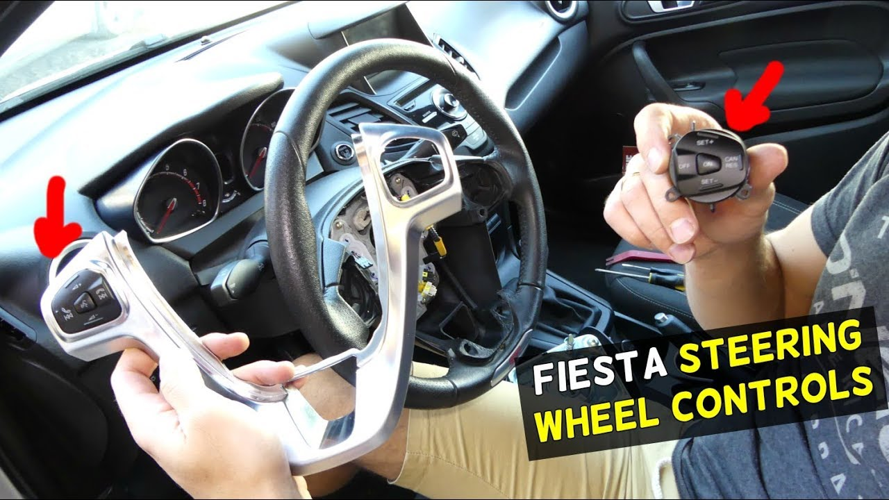 ford fiesta steering wheel controls cruise switch removal replacement st mk7 [ 1280 x 720 Pixel ]