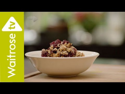 Deliciously Ella | Apple And Blackberry Crumble | Waitrose
