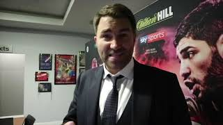 'HOPE YOU GET HIT BY A BUS HEARN YOU *****, YOU & JOSHUA ARE SCUM' -EDDIE HEARN REVEALS HORROR TWEET