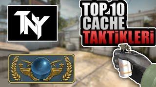 TOP 10 CACHE TAKTİKLERİ - TÜRKÇE - CS:GO