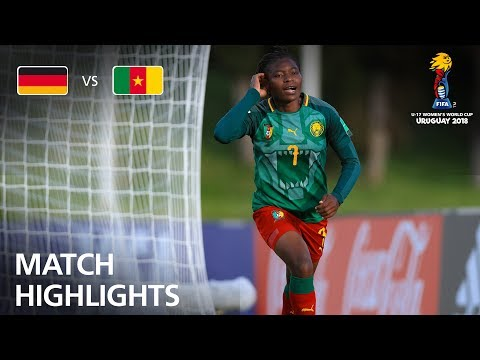 Germany v Cameroon  - FIFA U-17 Women's World Cup 2018™ - Group C