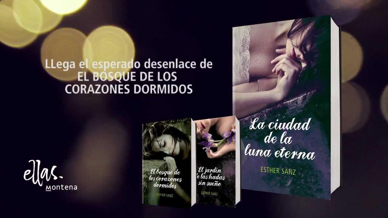 LA CIUDAD DE LA LUNA ETERNA de Esther Sanz.