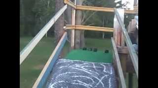 How To Build A Homemade Slip-n-slide Water Slide Ramp For Free
