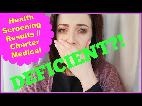 RESULTS LIVE ON CAMERA! One Year Vegan! Charter Medical Executive Health Screen // AD