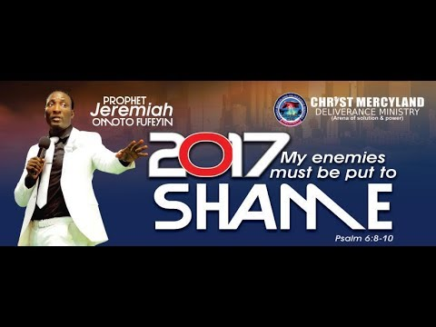FRIDAY PROPHETIC SERVICE (October 27th 2017)