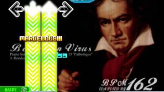 stepmania - beethoven virus hard mode