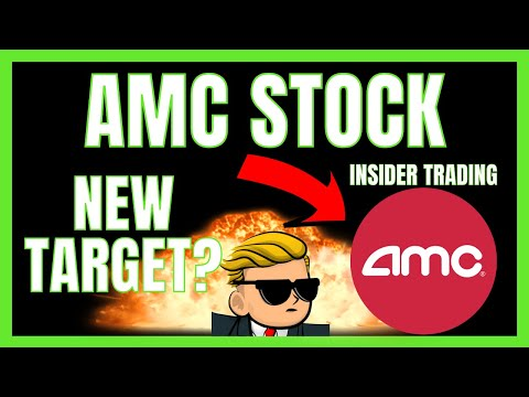 AMC STOCK NEW PRICE TARGET | $AMC Insider Trading Activity