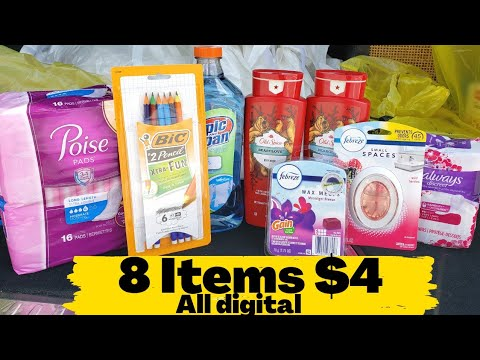 Dollar General $5/$25 Deals! ALL DIGITAL Coupons! Easy Couponing | One Cute Couponer