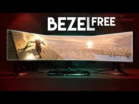 Create an AFFORDABLE Bezel Free Surround Display!