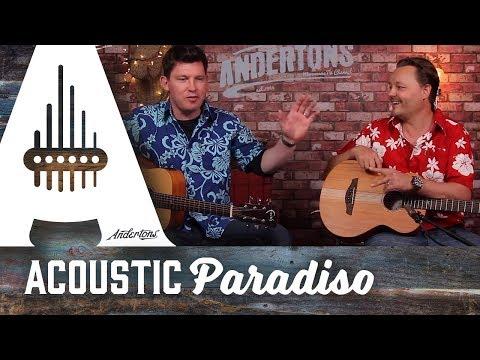 Acoustic Paradiso – Faith Nomad Mini Guitars – A Great Travel Guitar.