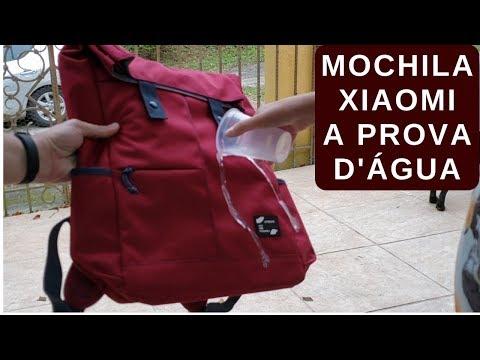 MOCHILA XIAOMI UREVO 13L A PROVA D'ÁGUA PARA NOTEBOOK