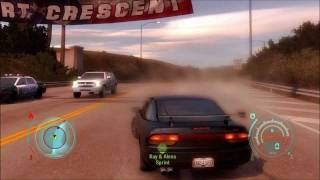 Need For Speed Undercover Epic Car Chase!