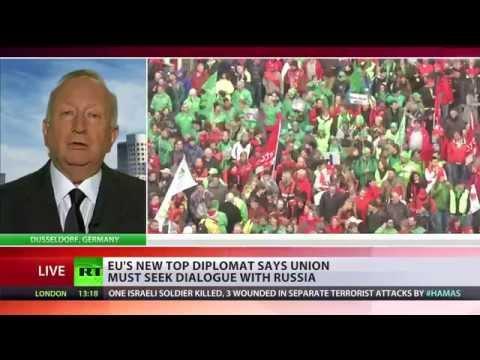 'EU-Russia sanctions standoff only benefits US'- ex-OSCE VP