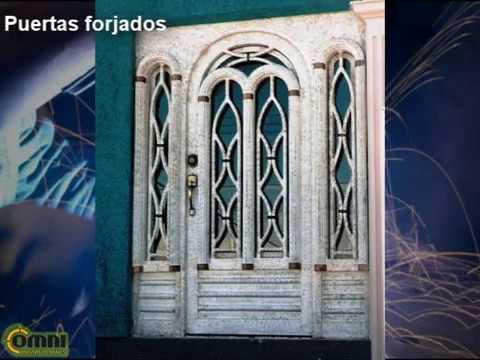 Herrer a de puertas y portones minimalista hierros for Puerta herreria minimalista