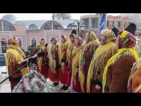 Sezar Zaraysky: Майданівскі колядки. Площа Пресвятої Марії у Чернівцях. 19 січня 2017 року