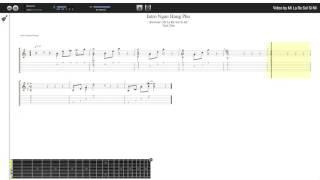 Intro Ngẫu Hứng Phố - Trần Tiến (tab guitar Haketu)