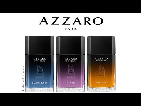 73d0320bbf7 Azzaro Pour Homme Amber Fever Hot Pepper Naughty Leather - YouTube