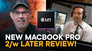 M1 MacBook Pro Review - 2 Weeks Later (Feat. Jonathan Morrison)