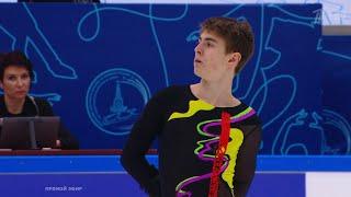 Марк Кондратюк Короткая программа Мужчины Кубок Первого канала по фигурному катанию 2021