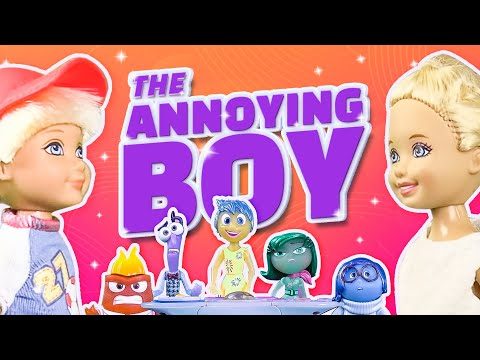 Barbie - The Annoying Boy at School (Inside Out) | Ep.45
