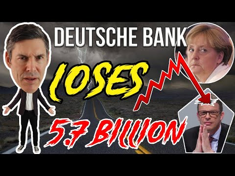 Deutsche Bank Suffers Catastrophic Loss! Will They GO BUST? (Answered)
